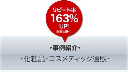 事例紹介・化粧品・コスメティック通販